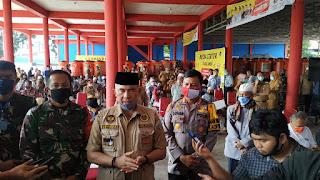 Walikota Jambi Syarif Fasha Bagikan JPS Tahap Ke-4,Ini Harap Fasha!!