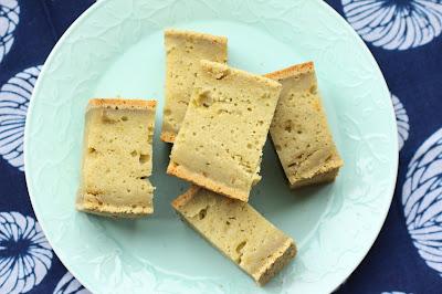 mochi cake au thé