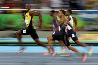 Usain bolt Rio Olympics 100 meters semi-final