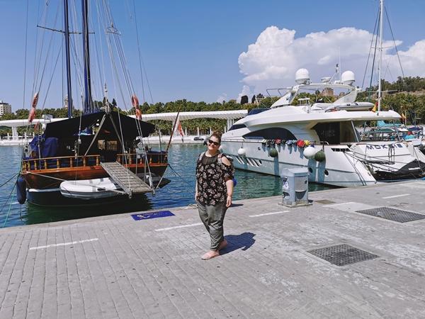 Port-Malaga-Spania