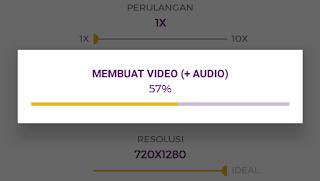 proses membuat video