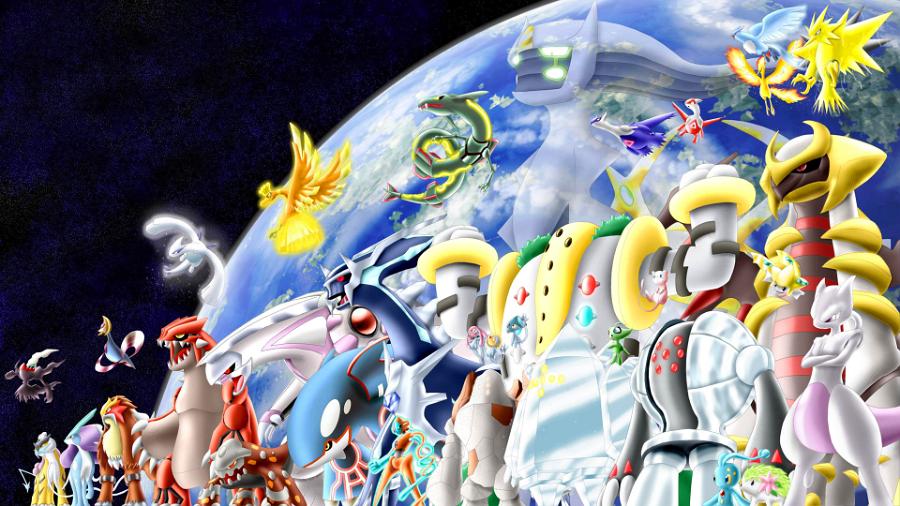 Fond D Ecran Pokemon Legendaire Fonds D Ecran Hd