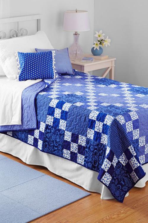 Rhapsody in Blue - Free Pattern