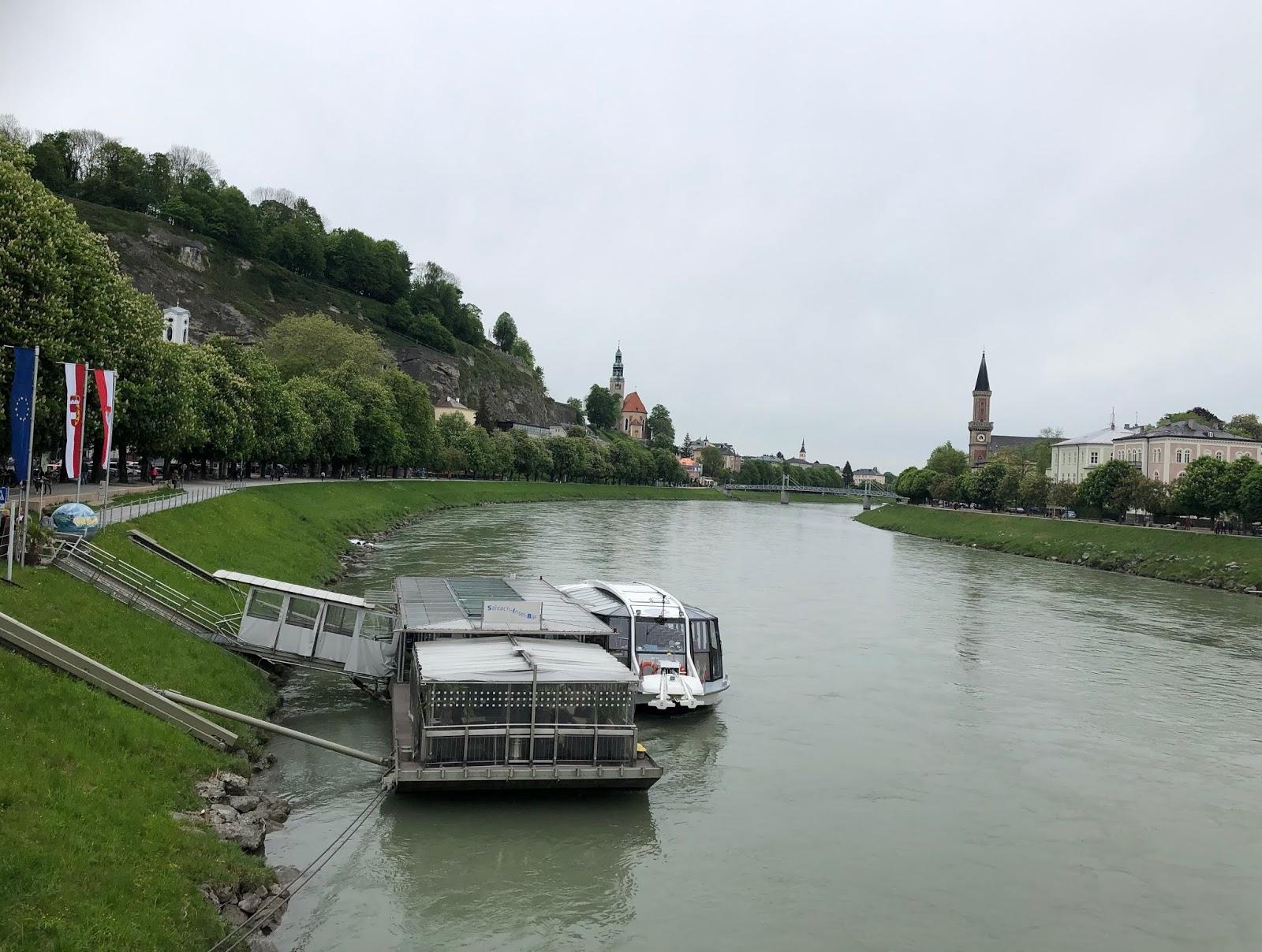 Salzburg itinerary Salzach River Cruise