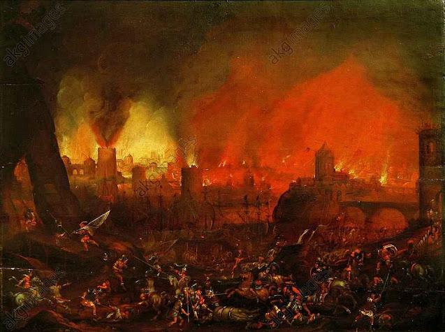 Saque de Roma. Século XVII