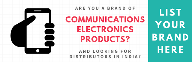 List Your Communications Electronics Brand here...