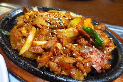 Ko Ryo Jeong Korean Restaurant, dak bulgogi