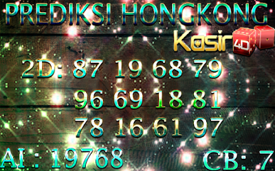 PREDIKSI KASIR4D PASARAN HONGKONG 13 JUNI 2018