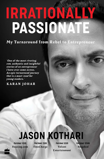 Book Review : Irrationally Passionate - Jason Kothari