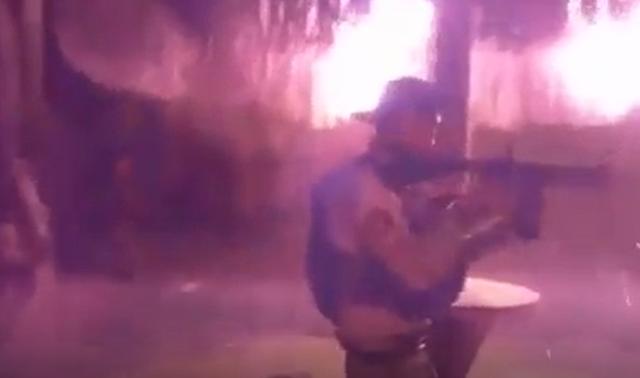 Video: Así como Militares llegaron los Sicarios y quemaron ranchos de Caro Quintero