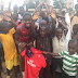 Asisat Oshoala gives back to her former grassroots team and schools in Lagos (Photos)
