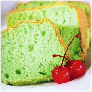 Cara membuat cake sifon pandan