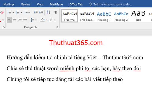 Kiểm tra lỗi chính tả tiếng Việt trên Word tự động-7