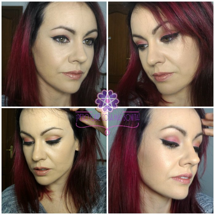 Maquillaje Bon Bons fucsia