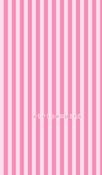 stripe*pink*