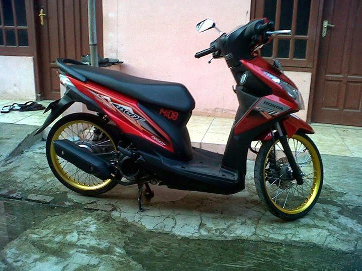 Foto Modifikasi Honda Beat PGM FI | LIAT AJA