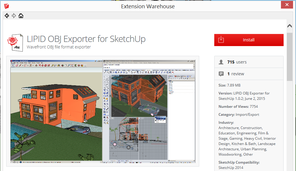 SketchUp to Blender - DiscoverThat