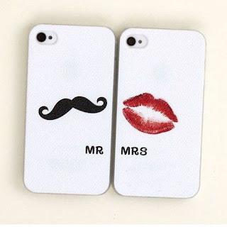custom case couple mr & mrs