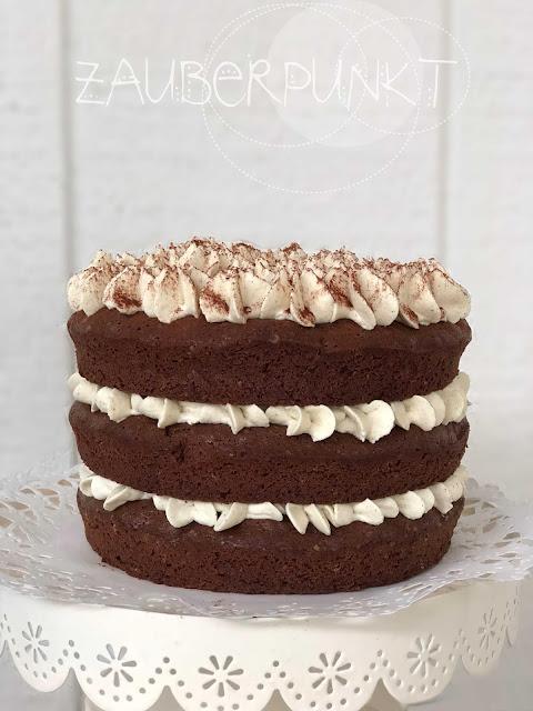 Torte, Schokolade, hausgemacht, aus meiner Küche