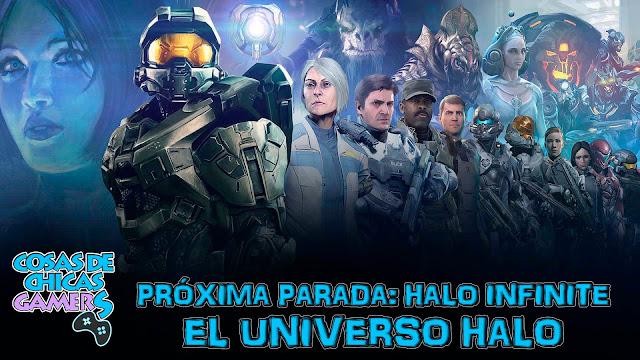 Evolución del universo Halo próxima parada Halo Infinite