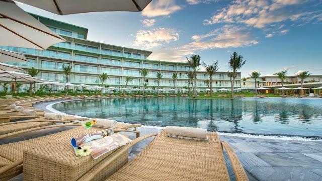 Không gian bể bơi FLC Lux City Sầm Sơn