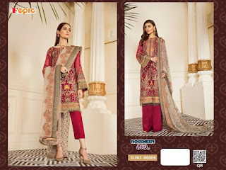 Fepic Rosemeen Brq Pakistani Suits Collection In Wholesale Rate