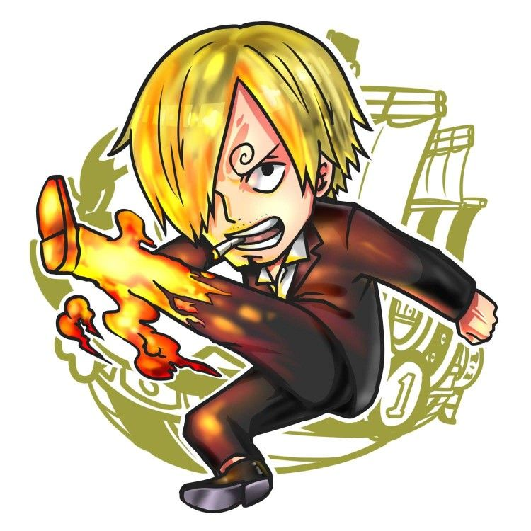 Download Wallpaper Gambar Chibi Sanji HD