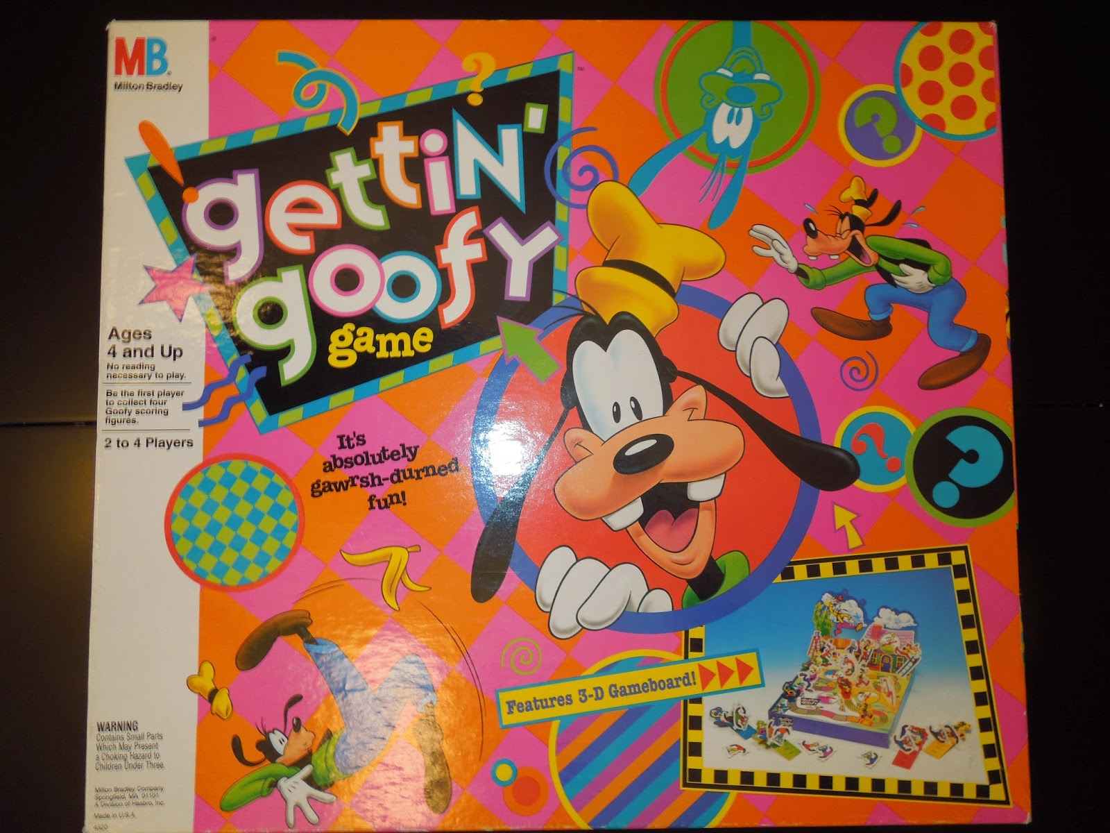 gettin' goofy game | A Board Game A Day