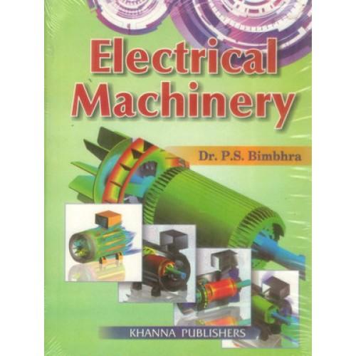 [PDF] Electrical Machinery by P S Bimbhra eBook Download
