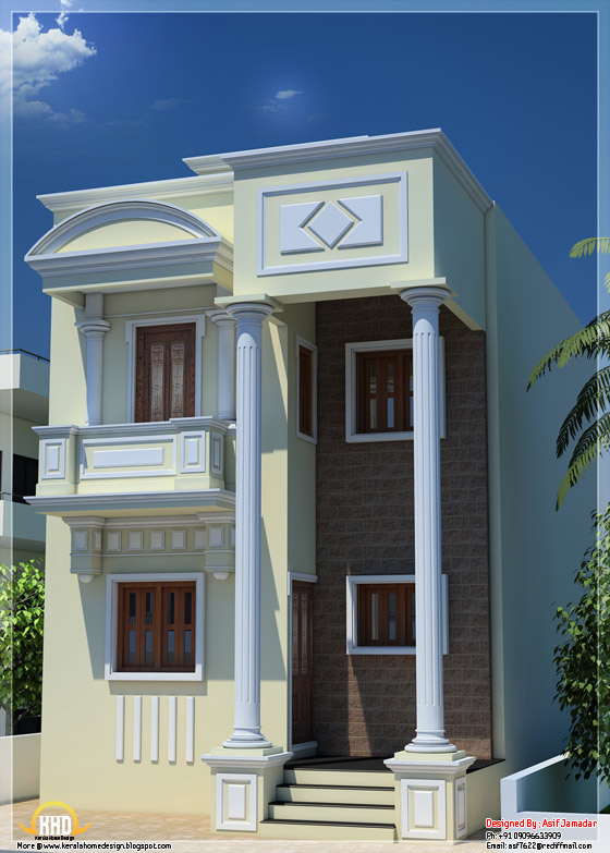 Collection: 50 Beautiful Narrow House Design For A 2 Story/2 Floor