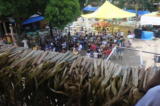 Hagisan ng suman is the highlight of Mayohan