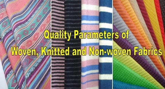 woven, knitted and non-woven fabric