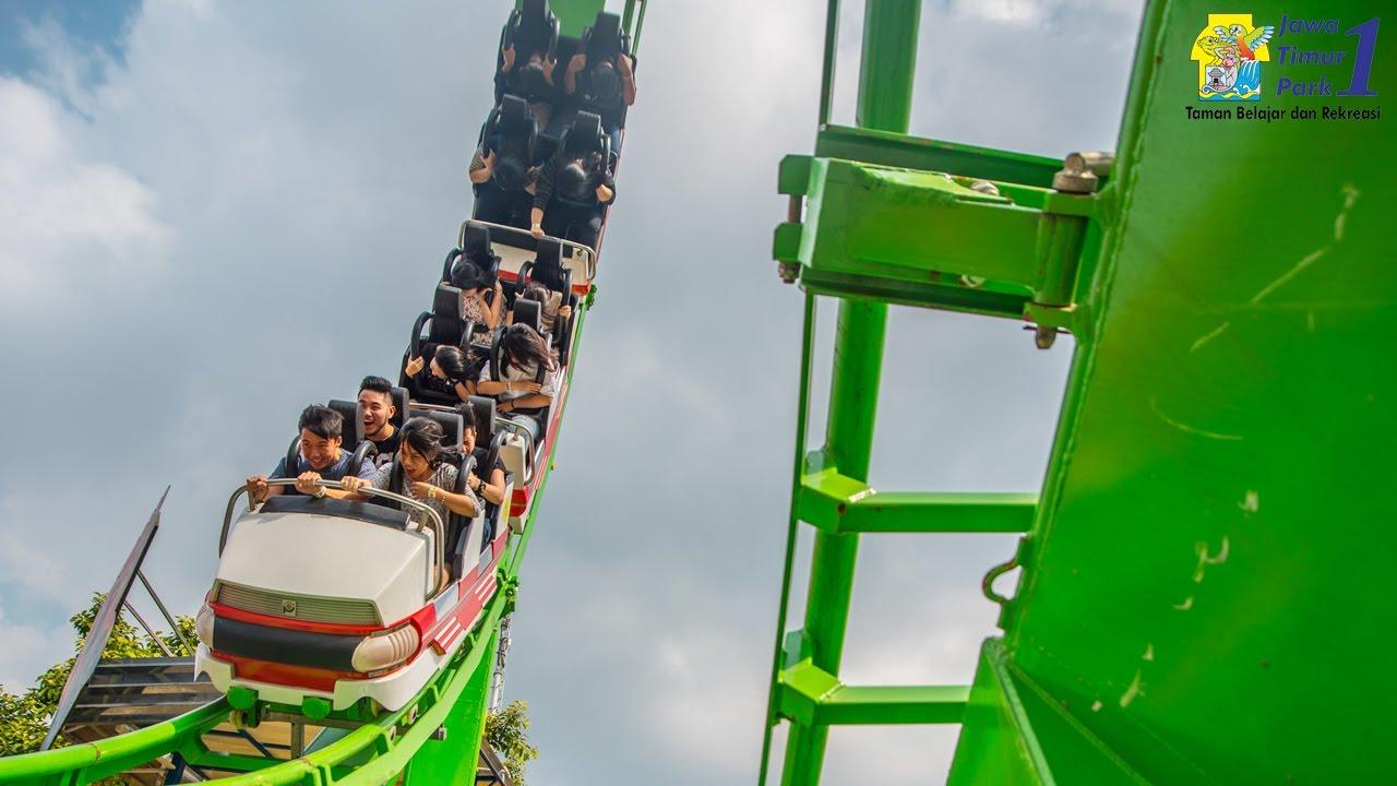 Jawa Timur Park 1 Malang Wahana Supermen Coaster