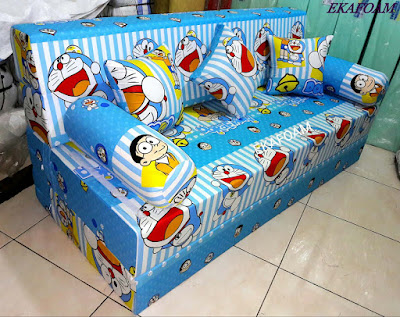 Sofa bed inoac DORAEMON GARIS posisi sofa inoac