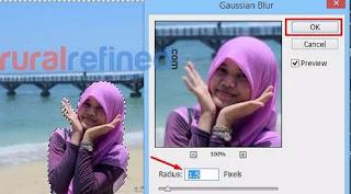 Cara Membuat Efek Blur / Autofocus pada Foto dengan Photoshop