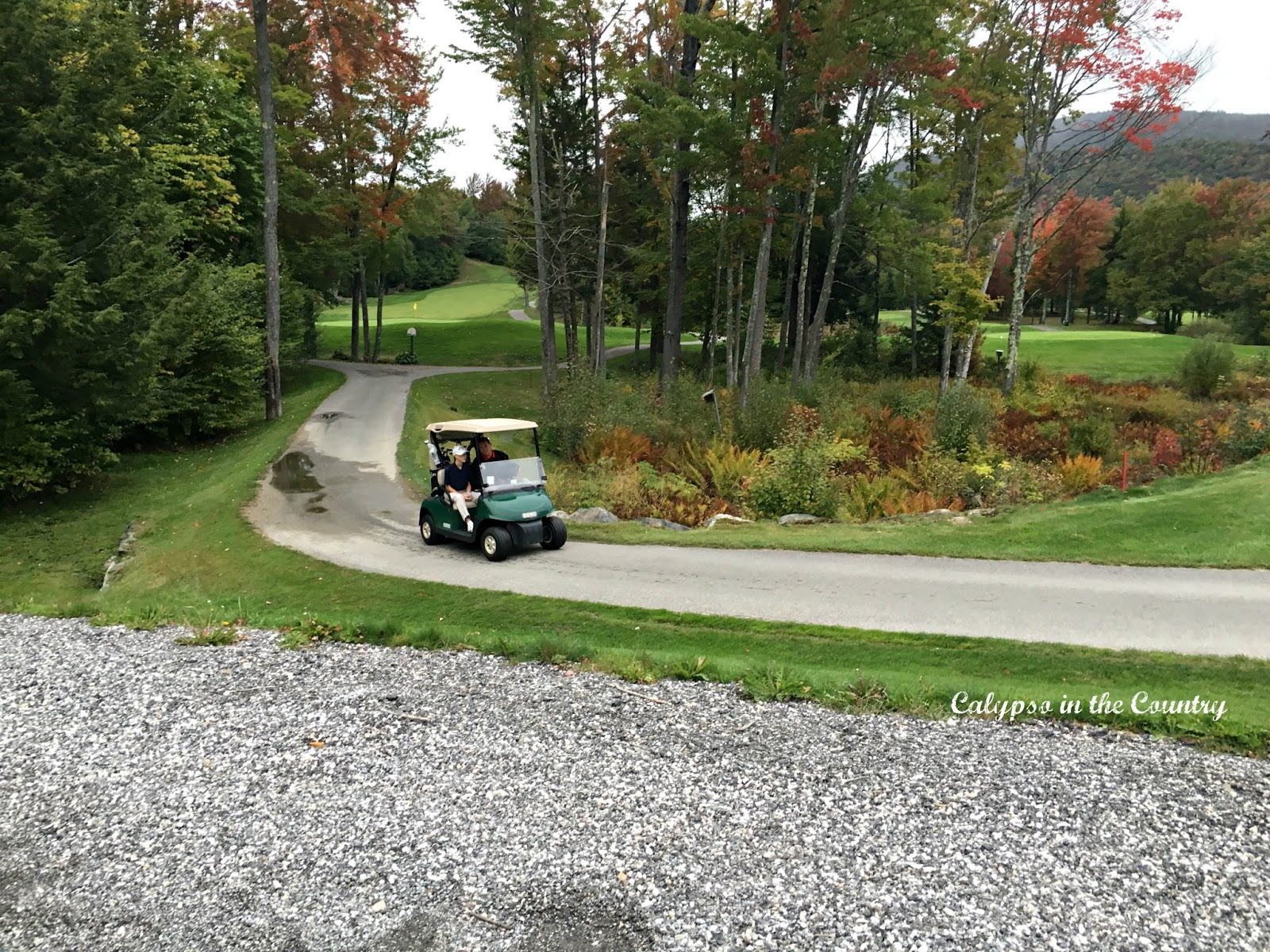Golfcart at Green Mountain National