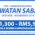 Terbaru! 200+ Jawatan Kosong Negeri Sabah Ambilan Oktober - November 2018