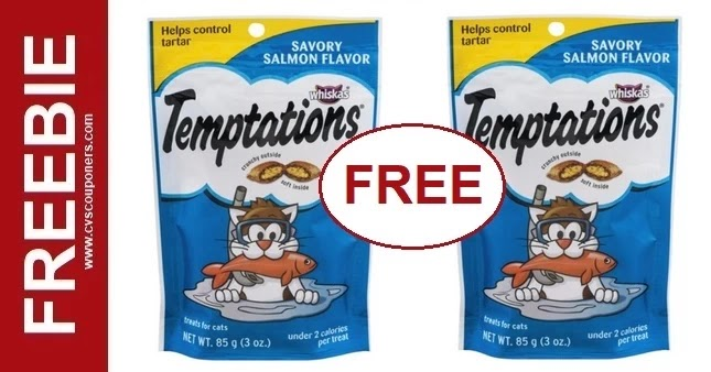 FREE Temptations Cat Treats at CVS 6/13-6/19