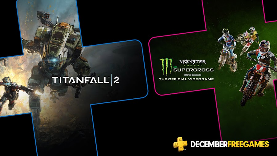 titanfall 2 monster energy supercross the official videogame game ps4 plus sony interactive entertainment respawn entertainment electronic arts milestone srl