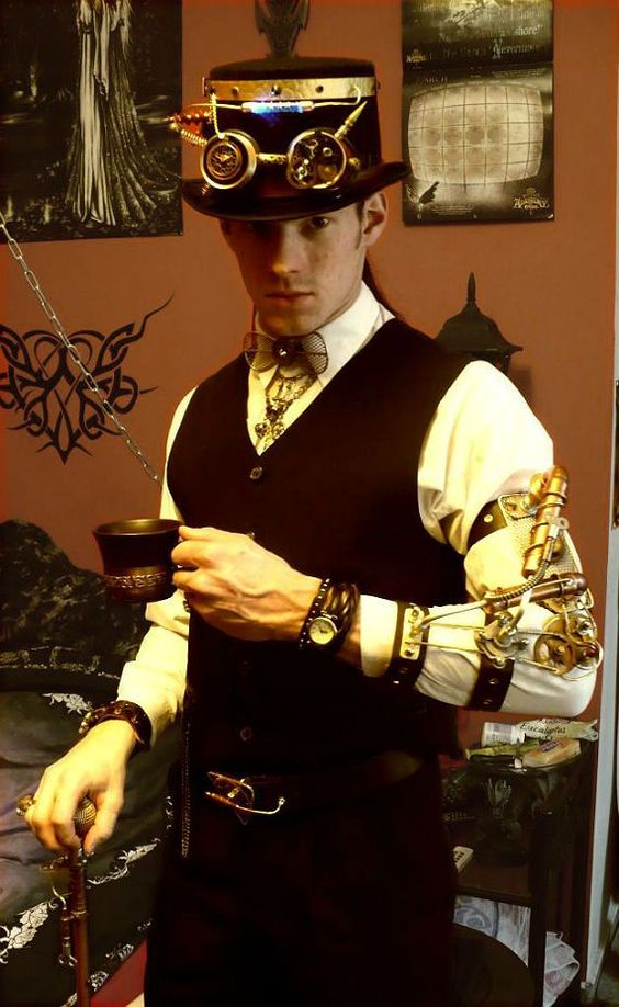 Drink your Coffeee in Steampunk Mode
