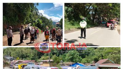 Polres Toraja Utara Lakasanakan Hening Cipta Indonesia, Ini Tujuannya