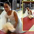 Cebu bride who was born without legs ditches wheelchair and walks down the aisle at her wedding