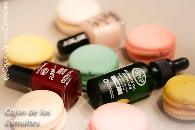 Reseña esmaltes y aceite de almendras para cutículas de GNP