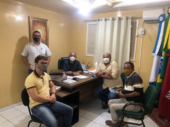 Prefeito de Araruna se reuniu com membros do Orçamento Democrático Estadual