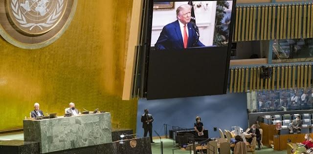 Di PBB, Trump Minta China Bertanggung Jawab Atas Pandemi Covid-19
