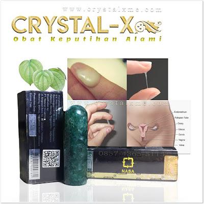 manfaat obat herbal crystal x untuk keputihan