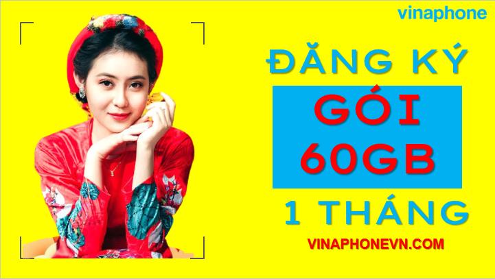 vinaphone 60gb 1 tháng