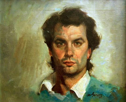 Self Portrait, Bill Angresano, International Art Gallery, Self Portrait, Art Gallery, Portraits of Painters, Fine arts, Self-Portraits, Painter Bill Angresano