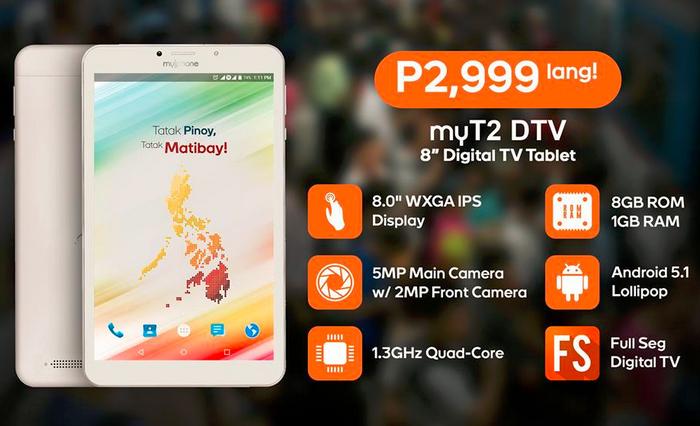MyPhone MyT2 DTV