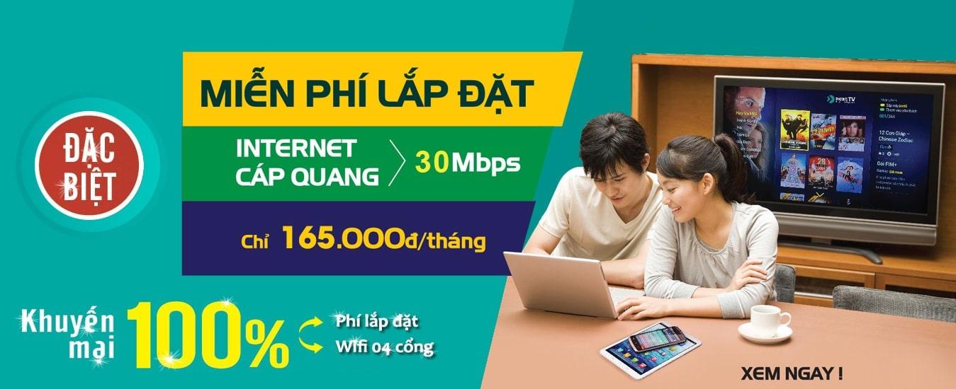 Gói cước internet cáp quang của Viettel An Giang